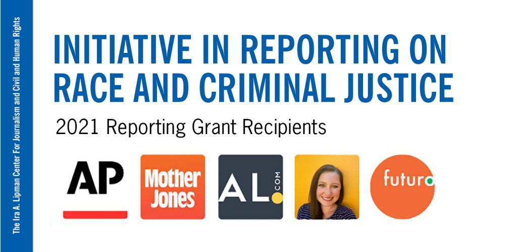 logos, text Initiative in Reporting on Race and Criminal Justice