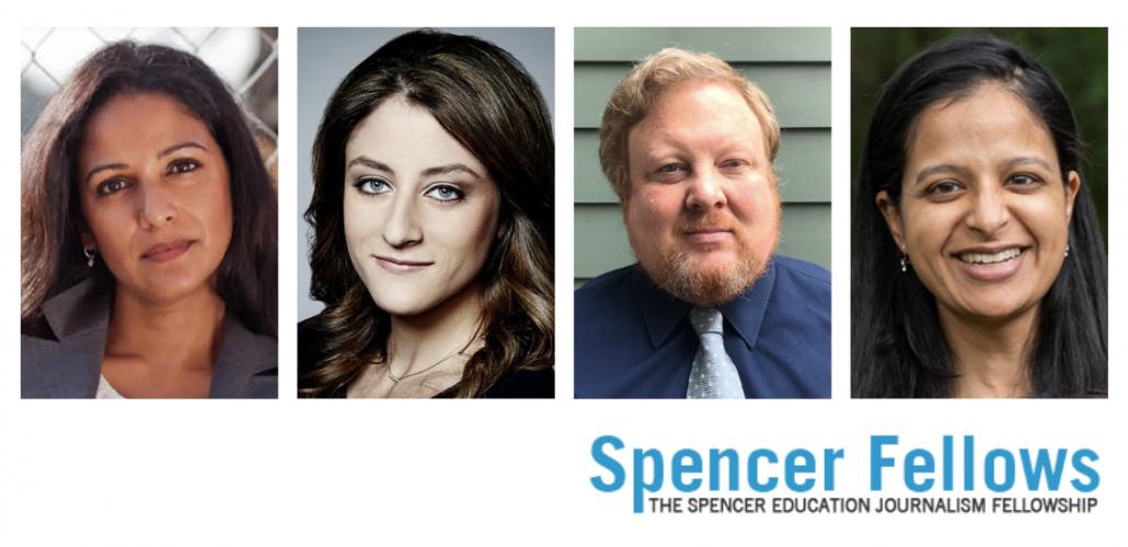 Spencer Fellows headshots and logo