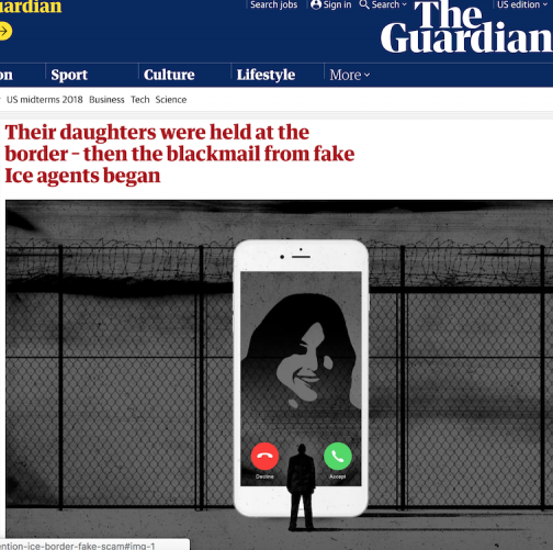 Guardian story