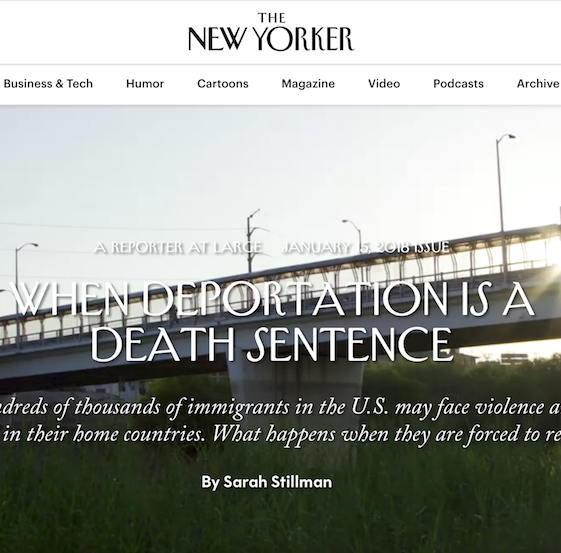 When deportation is a death sentence preview