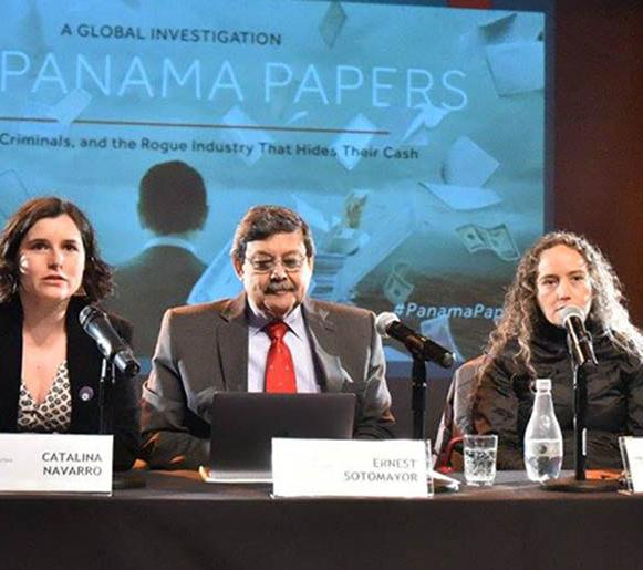 Speakers at Seminar on Panama Papers