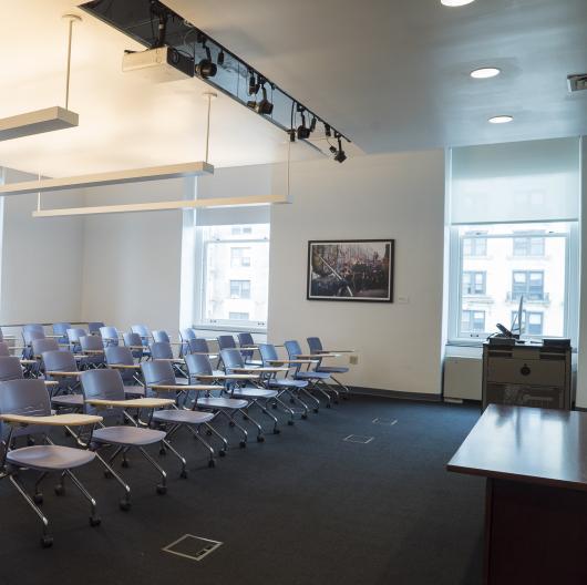 Computer Lab with Mac Desktops: Rental Space at Columbia Journalism School in New York City
