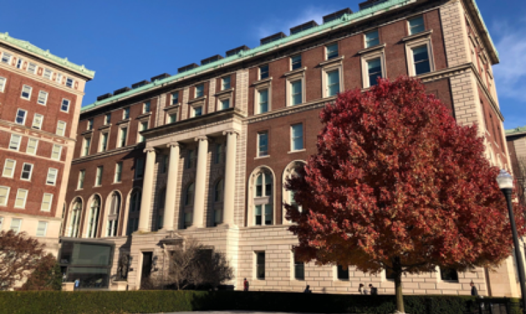 Photo of the exterior of Columbia Journalism School