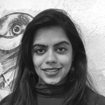 black and white headshot of Soumya Shankar