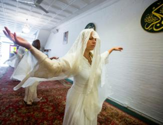 The New York Times published Adela Suliman's M.S. '16 master's project about American Sufism.