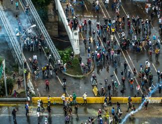 Malnutrition Protest in Venezuela