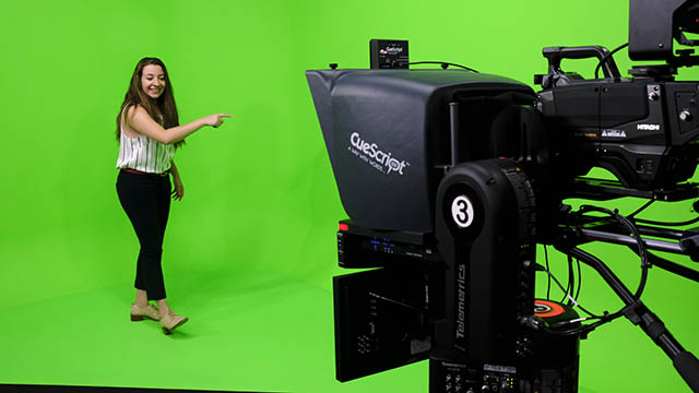 NYC Green Screen Studio Rental at Columbia Journalism School